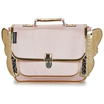 Tašky Dievčatá Školské tašky a aktovky CARAMEL & CIE CARTABLE AILE Ružová