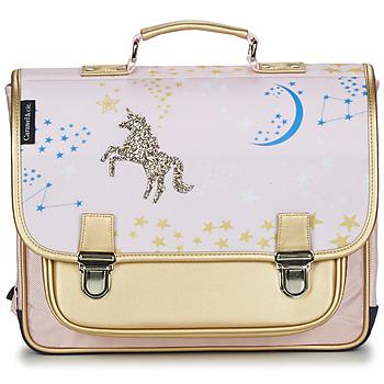 Tašky Dievčatá Školské tašky a aktovky CARAMEL & CIE CARTABLE 38 CM CONSTELLATION Viacfarebná