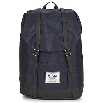 Tašky Ruksaky a batohy Herschel RETREAT Námornícka modrá / Čierna