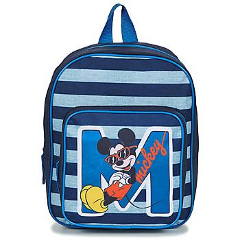 Tašky Chlapci Ruksaky a batohy Disney SAC A DOS MICKEY 31 CM Námornícka modrá