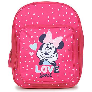 Tašky Dievčatá Ruksaky a batohy Disney SAC A DOS MINNIE 23 CM Ružová