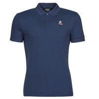 Oblečenie Muži Polokošele s krátkym rukávom Le Coq Sportif ESS POLO SS N 1 M Námornícka modrá