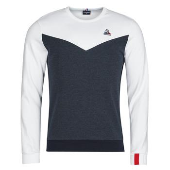 Oblečenie Muži Mikiny Le Coq Sportif SAISON 1 CREW SWEAT N 1 Námornícka modrá / Biela