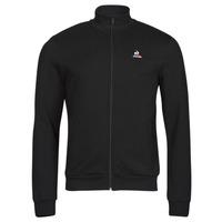 Oblečenie Muži Vrchné bundy Le Coq Sportif ESS FZ SWEAT N 3 M Čierna