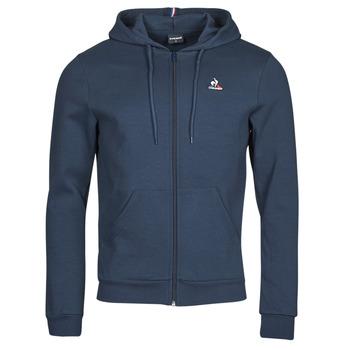 Oblečenie Muži Vrchné bundy Le Coq Sportif ESS FZ HOODY N 3 M Námornícka modrá