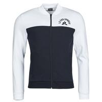 Oblečenie Muži Vrchné bundy Le Coq Sportif SAISON 2 FZ SWEAT N 1 Námornícka modrá / Biela