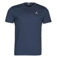 Oblečenie Muži Tričká s krátkym rukávom Le Coq Sportif ESS TEE SS N 3 M Námornícka modrá