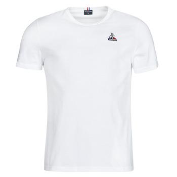 Oblečenie Muži Tričká s krátkym rukávom Le Coq Sportif ESS TEE SS N 3 M Biela