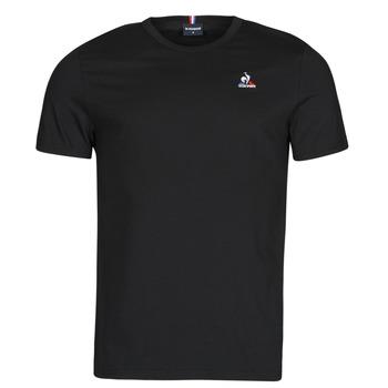 Oblečenie Muži Tričká s krátkym rukávom Le Coq Sportif ESS TEE SS N 3 M Čierna