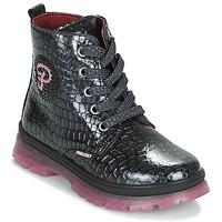 Topánky Dievčatá Polokozačky Pablosky 404157 Čierna