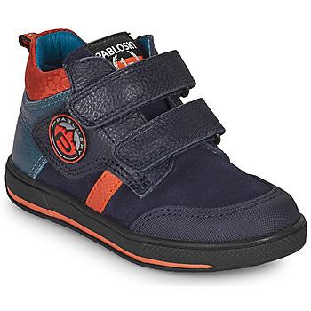 Topánky Chlapci Polokozačky Pablosky 503523 Modrá