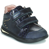Topánky Dievčatá Členkové tenisky Pablosky 6122 Námornícka modrá