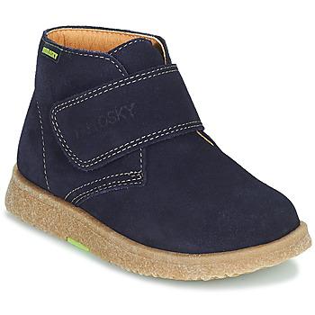 Topánky Chlapci Polokozačky Pablosky 502228 Námornícka modrá