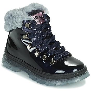 Topánky Dievčatá Polokozačky Pablosky 404429 Modrá