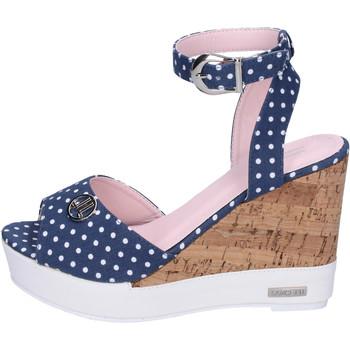 Topánky Ženy Sandále Lancetti Sandále BJ942 Modrá