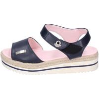 Topánky Ženy Sandále Lancetti Sandále BJ944 Modrá