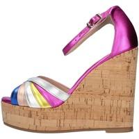 Topánky Ženy Sandále L'amour 631 FUCHSIA