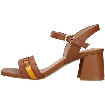 Topánky Ženy Sandále Luciano Barachini GL282R BROWN