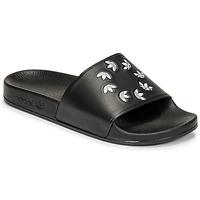 Topánky športové šľapky adidas Originals ADILETTE Čierna
