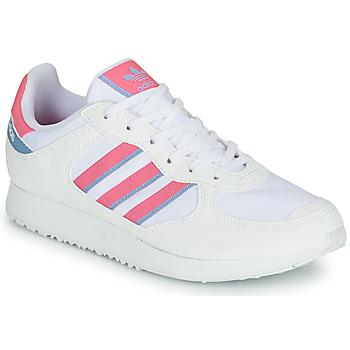 Topánky Ženy Nízke tenisky adidas Originals SPECIAL 21 W Biela / Ružová