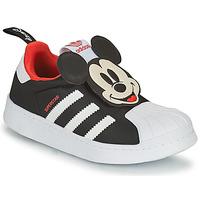 Topánky Chlapci Nízke tenisky adidas Originals SUPERSTAR 360 C Čierna / Mickey