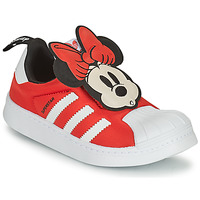 Topánky Dievčatá Nízke tenisky adidas Originals SUPERSTAR 360 C Červená / Minnie