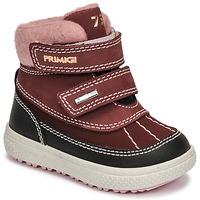 Topánky Dievčatá Snehule  Primigi BARTH 19 GTX Bordová