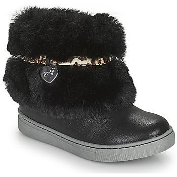 Topánky Dievčatá Polokozačky Primigi B&G LUX Čierna