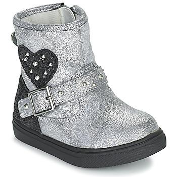 Topánky Dievčatá Polokozačky Primigi BABY LUX Strieborná