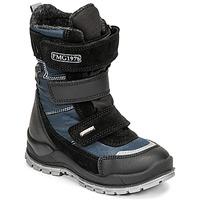 Topánky Chlapci Snehule  Primigi HANS GTX Čierna / Modrá