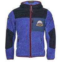 Oblečenie Muži Flísové mikiny Napapijri YUPIK Námornícka modrá / Modrá