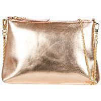 Tašky Ženy Tašky cez rameno Petite Mendigote HYPERION Ružová / Metalická