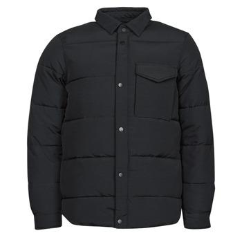 Oblečenie Muži Vyteplené bundy Scotch & Soda WATER-REPELLENT SHIRT Čierna