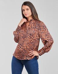 Oblečenie Ženy Blúzky See U Soon 21211062 Tehlová