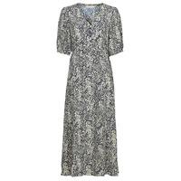 Oblečenie Ženy Dlhé šaty See U Soon 21221123 Námornícka modrá / Biela