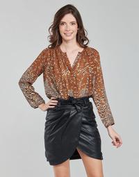Oblečenie Ženy Blúzky See U Soon 21212103 Viacfarebná