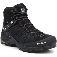 Topánky Muži Turistická obuv Salewa MS Alp Trainer 2 Mid GTX 61382-0971 black