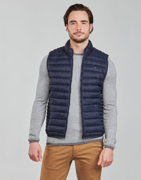 Oblečenie Muži Vyteplené bundy Teddy Smith TERRY Námornícka modrá