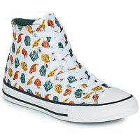 Topánky Deti Členkové tenisky Converse CHUCK TAYLOR ALL STAR DINO DAZE HI Biela / Zelená / Oranžová