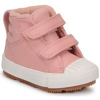 Topánky Dievčatá Členkové tenisky Converse CHUCK TAYLOR ALL STAR BERKSHIRE BOOT SEASONAL LEATHER HI Ružová