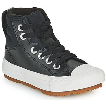 Topánky Deti Členkové tenisky Converse CHUCK TAYLOR ALL STAR BERKSHIRE BOOT SEASONAL LEATHER HI Čierna