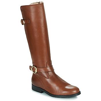 Topánky Dievčatá Čižmy do mesta Acebo's 9904-CUERO-T Hnedá