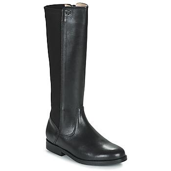 Topánky Dievčatá Čižmy do mesta Acebo's 9905PE-NEGRO-T Čierna