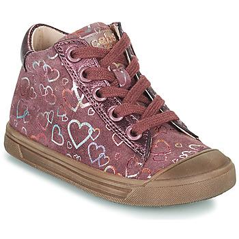 Topánky Dievčatá Členkové tenisky Acebo's 5533EL-GRANADA Ružová