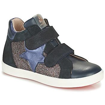 Topánky Dievčatá Členkové tenisky Acebo's 5541SX-MARINO Námornícka modrá