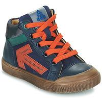 Topánky Chlapci Členkové tenisky Acebo's 5567-MARINO-J Námornícka modrá