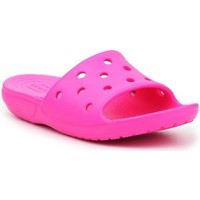 Topánky Deti športové šľapky Crocs Classic Slide Ružová