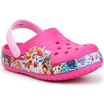 Topánky Deti Nazuvky Crocs FL Paw Patrol Band Clog JR Ružová