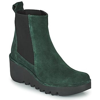 Topánky Ženy Čižmičky Fly London BAGU Zelená