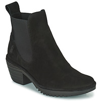 Topánky Ženy Čižmičky Fly London WASP Čierna